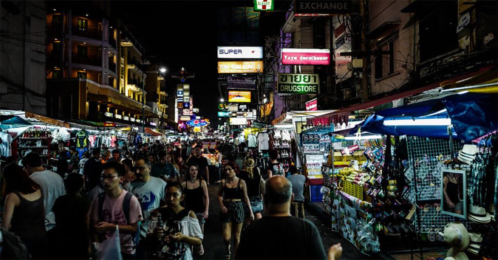 Khao San Road night