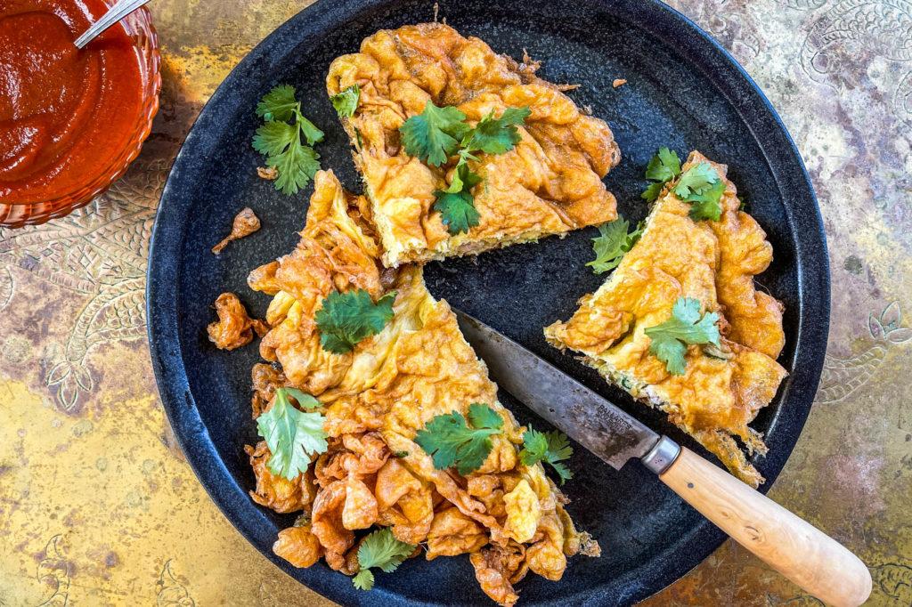 kai jeow omelette à la thaïlandaise