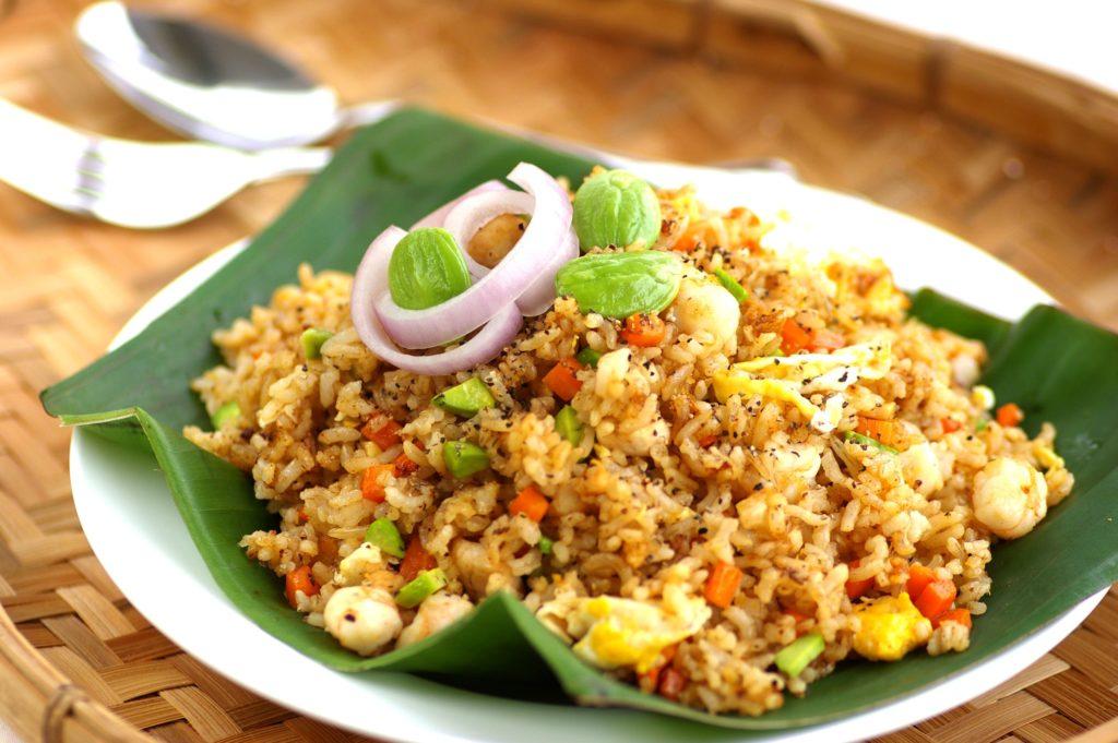 khao pad riz sauté