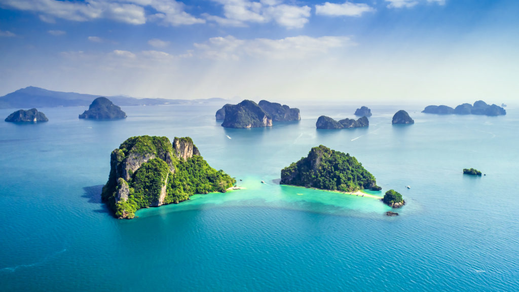 iles autour de Koh Yao Noi en Thaïlande