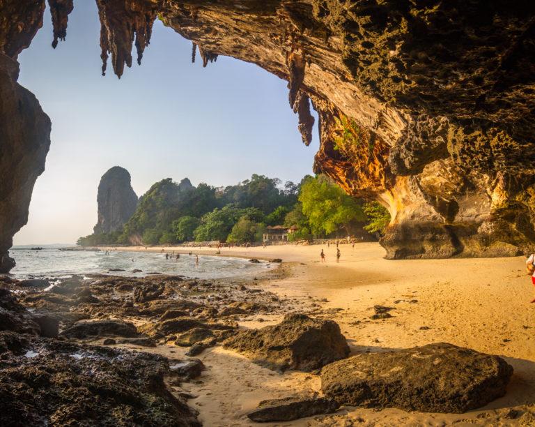 Plage de Phra Nang Cave