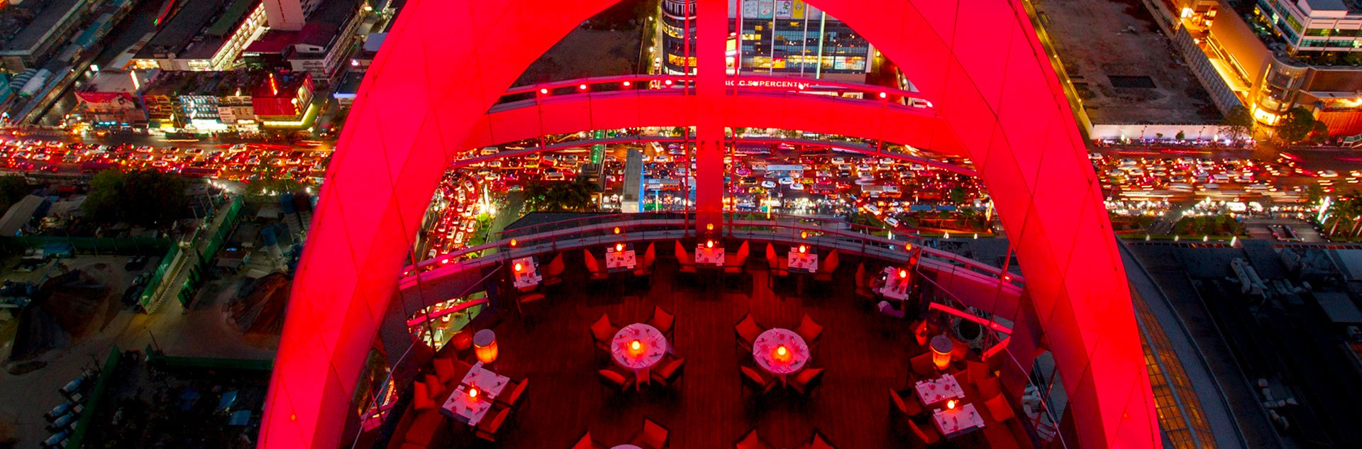 rooftop restaurant red sky à bangkok