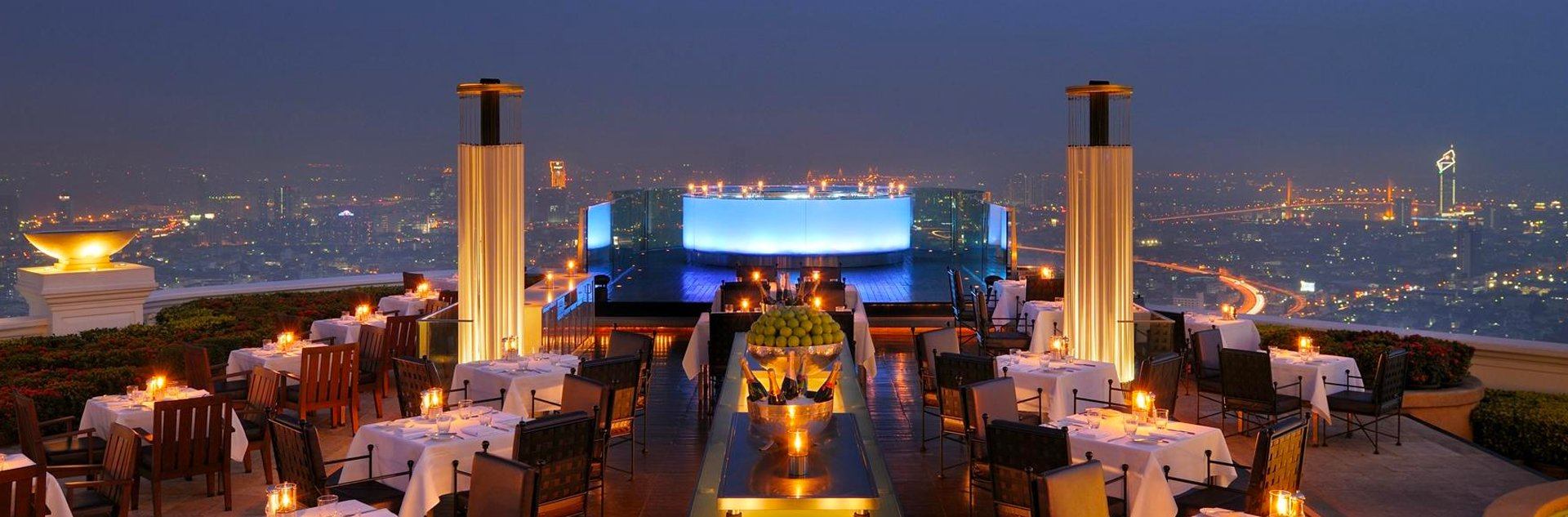 rooftop du restaurant sirocco