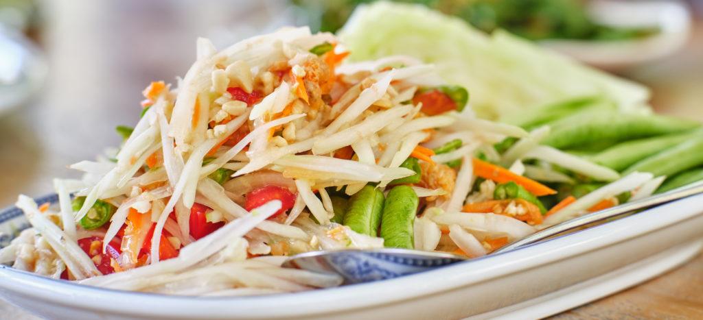 Som Tam : Salade de papaye verte