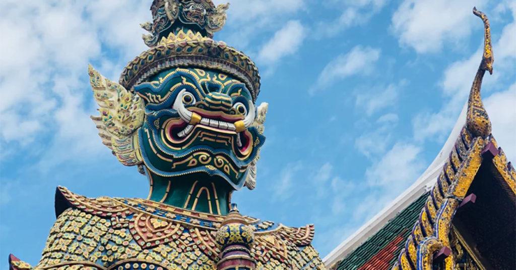 Statue temple thailande