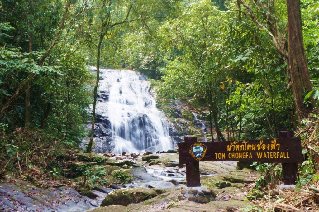 Cascade Ton chong fah en thaïlande