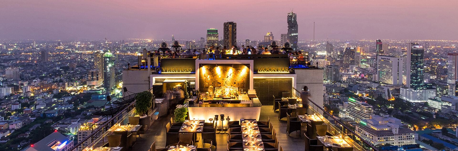Restaurant rooftop vertigo banyan tree bangkok