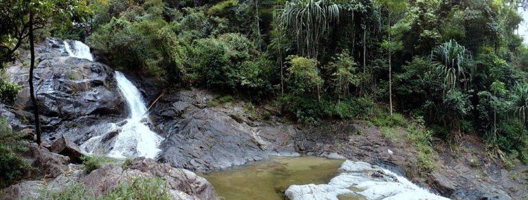 La cascade de Lampi à Khao Lak
