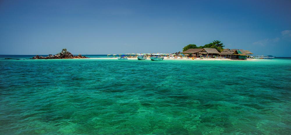 île des coraux koh hae