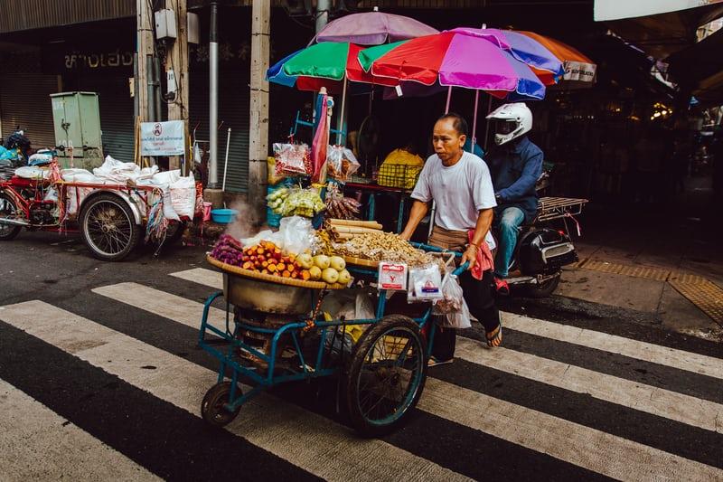 marchand rue thailande