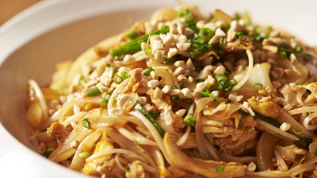 Pad Thai : nouilles sautées