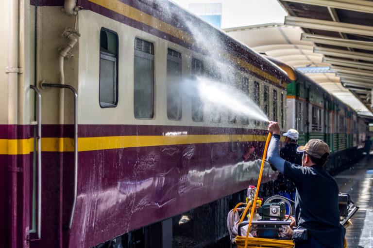 Voyage en train de Chiang Mai à Bangkok