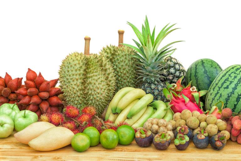 Fruits traditionnels thaïlandais