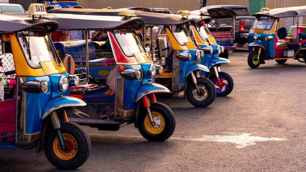 tuktuk à phuket